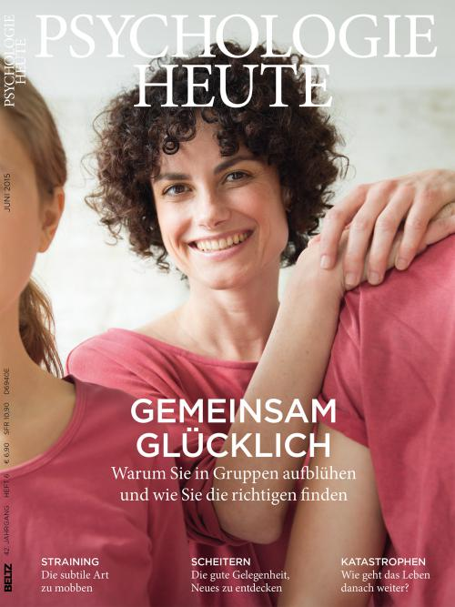 Psychologie Heute 6/2015 cover