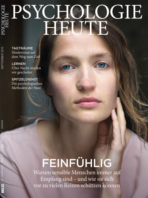 Psychologie Heute 9/2015 cover