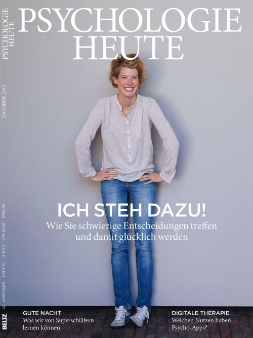 Psychologie Heute 10/2015 cover