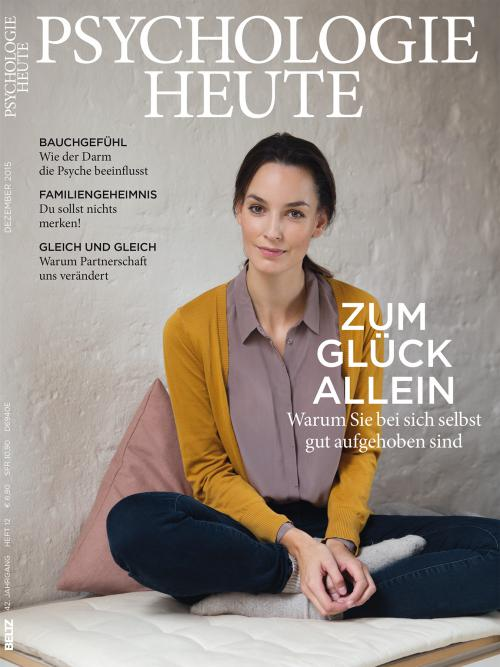 Psychologie Heute 12/2015 cover
