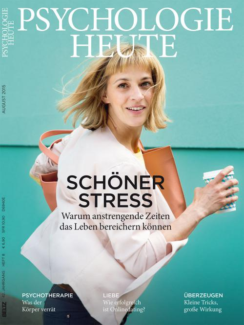 Psychologie Heute 8/2015 cover