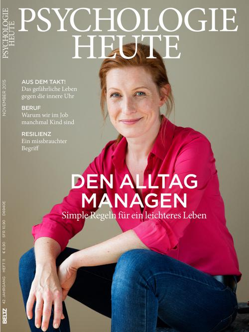 Psychologie Heute 11/2015 cover
