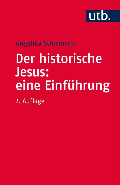 Der historische Jesus: eine Einführung cover