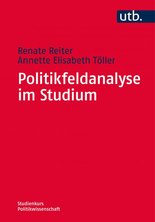 Politikfeldanalyse im Studium cover