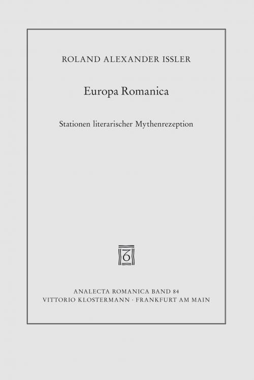 Europa Romanica cover