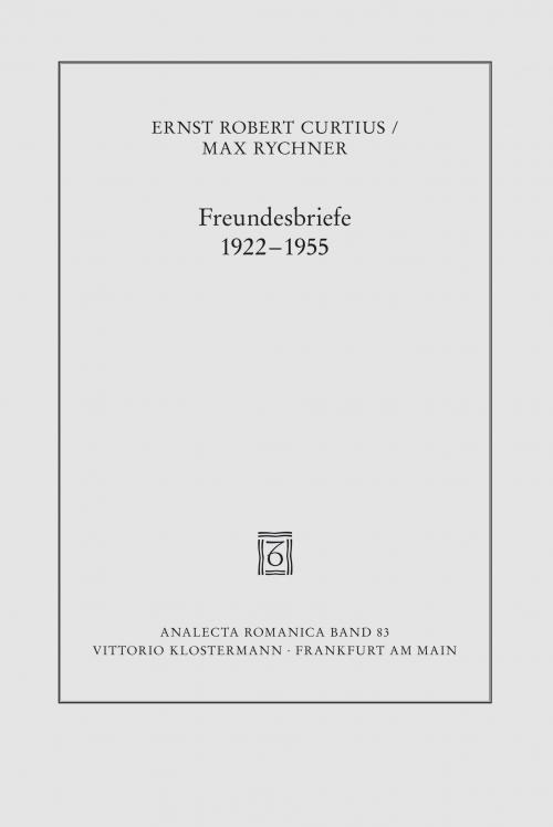 Freundesbriefe 1922-1955 cover