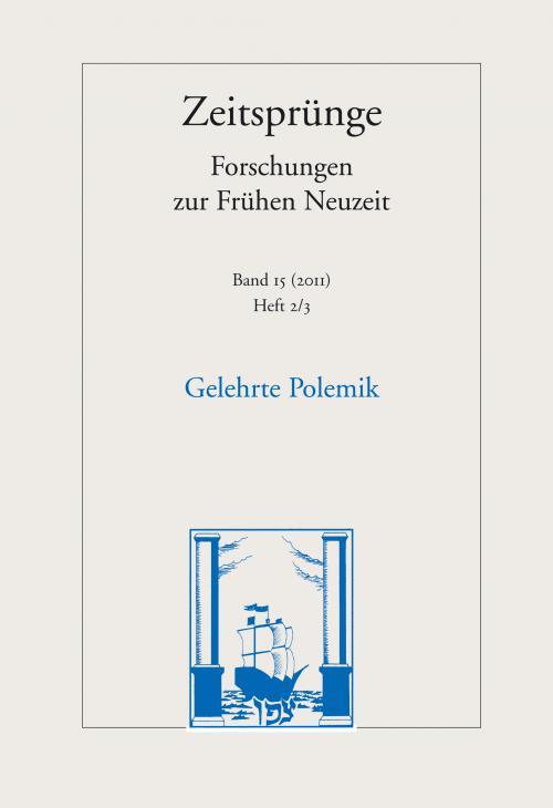 Gelehrte Polemik cover
