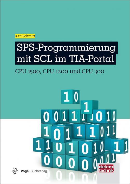 SPS-Programmierung mit SCL im TIA-Portal cover