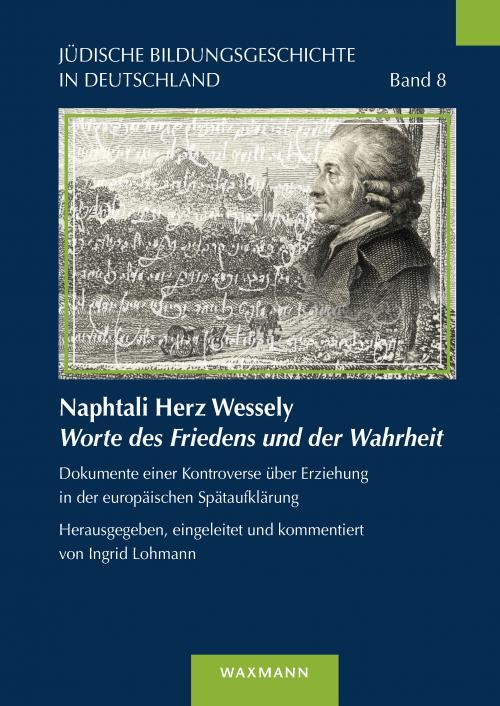 Naphtali Herz Wessely Worte des Friedens und der Wahrheit cover