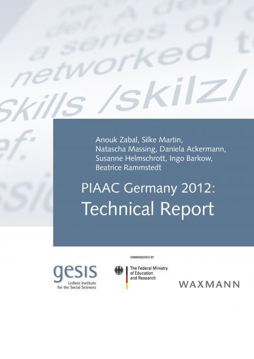 PIAAC Technical Report cover