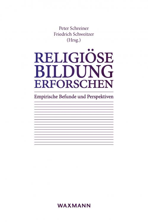 Religiöse Bildung erforschen cover