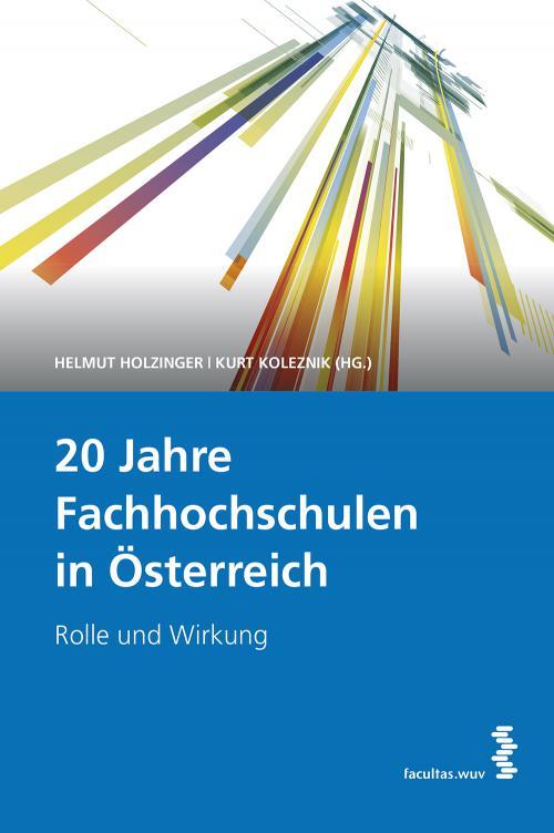 20 Jahre Fachhochschulen in Österreich cover
