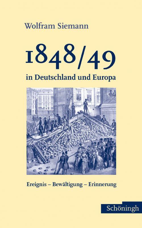 1848/49 in Deutschland und Europa cover