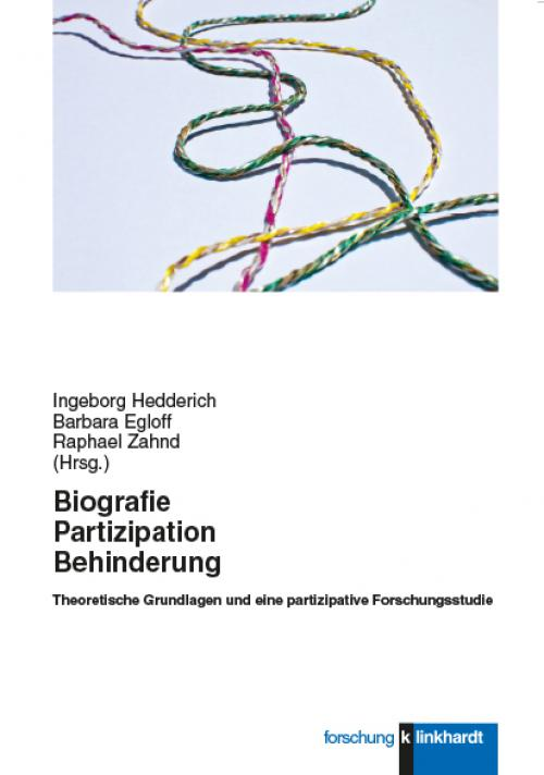 Biografie - Partizipation - Behinderung cover