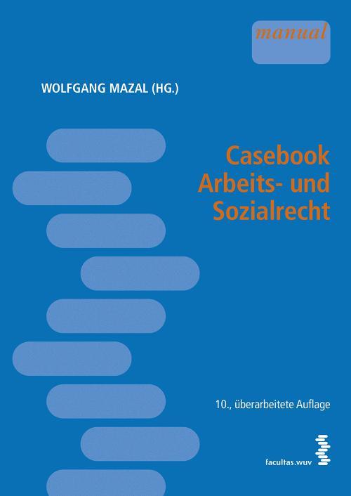 Casebook Arbeits- und Sozialrecht cover