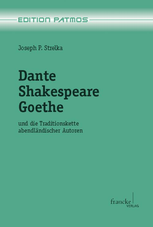 Dante - Shakespeare - Goethe cover