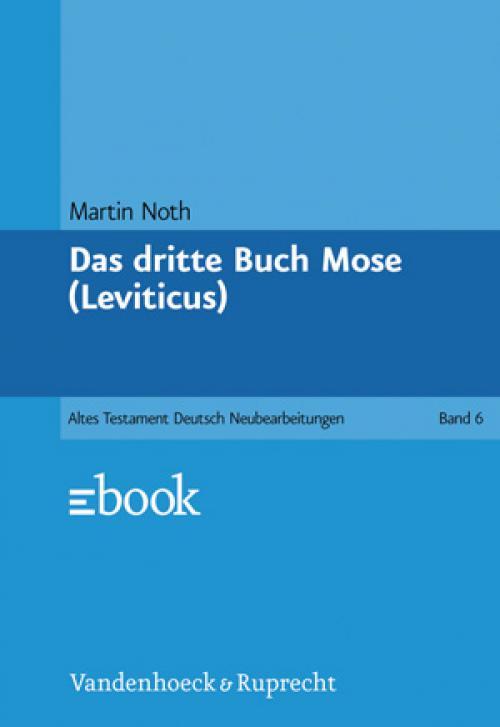 Das dritte Buch Mose (Leviticus) cover