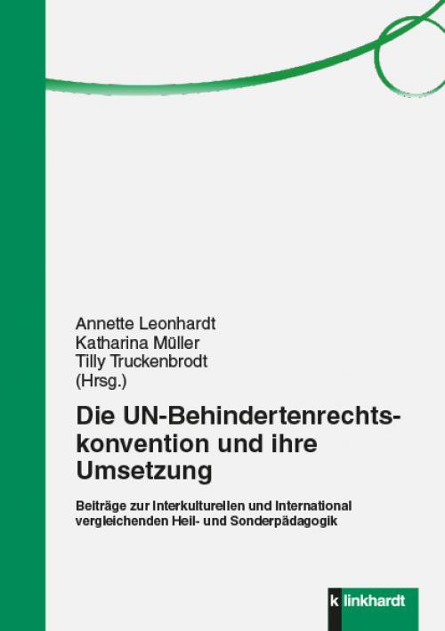Die UN-Behindertenrechtskonvention und ihre Umsetzung cover