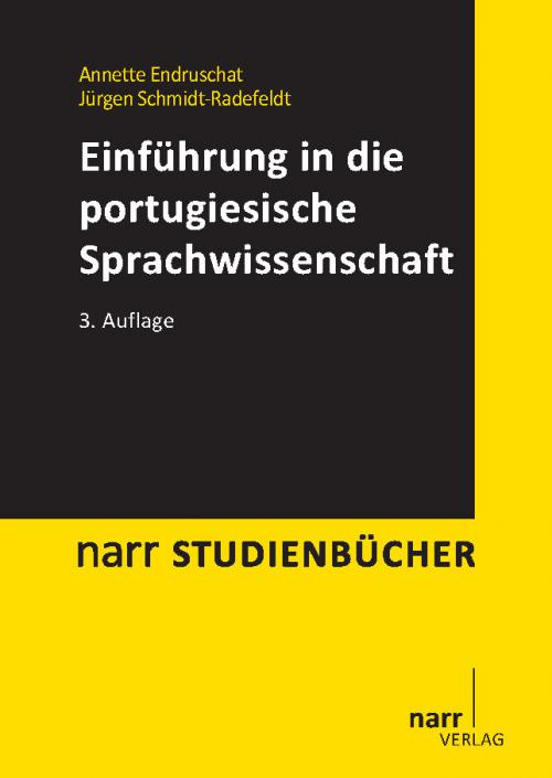 Einführung in die portugiesische Sprachwissenschaft cover