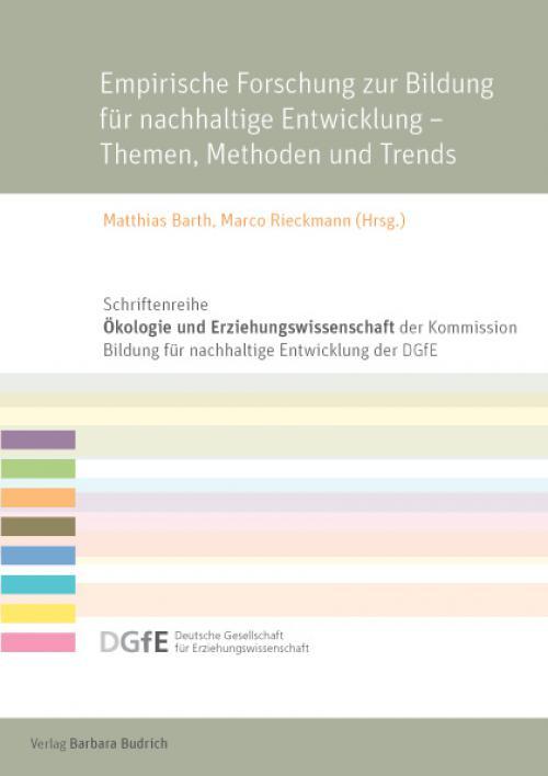 Empirische Forschung zur Bildung für nachhaltige Entwicklung – Themen, Methoden und Trends cover
