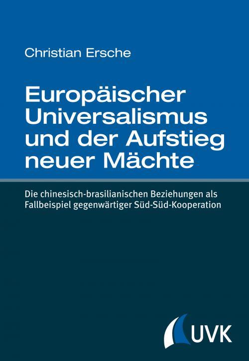 Europäischer Universalismus und der Aufstieg neuer Mächte cover