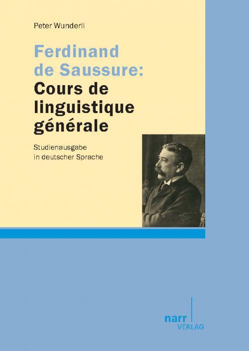Ferdinand de Saussure: Cours de linguistique générale cover