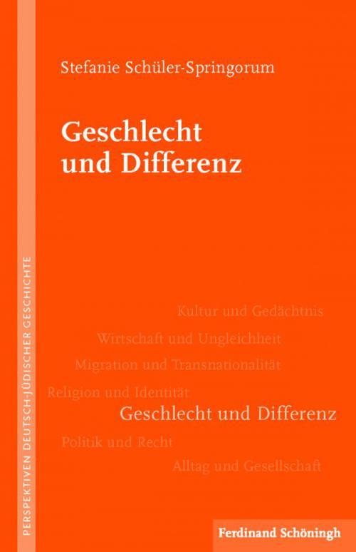 Geschlecht und Differenz cover