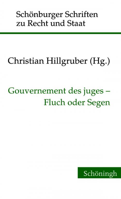 Gouvernement des juges - Fluch oder Segen cover