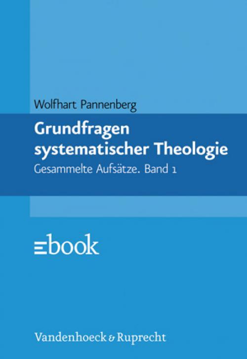 Grundfragen systematischer Theologie cover