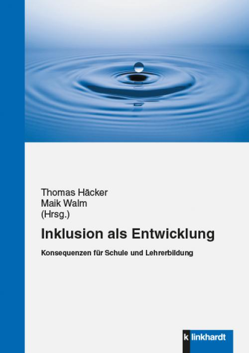 Inklusion als Entwicklung cover
