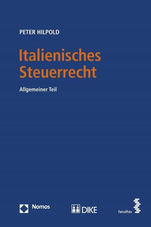 Italienisches Steuerrecht cover