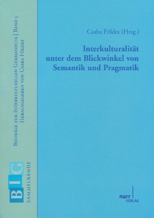 Interkulturalität unter dem Blickwinkel von Semantik und Pragmatik cover