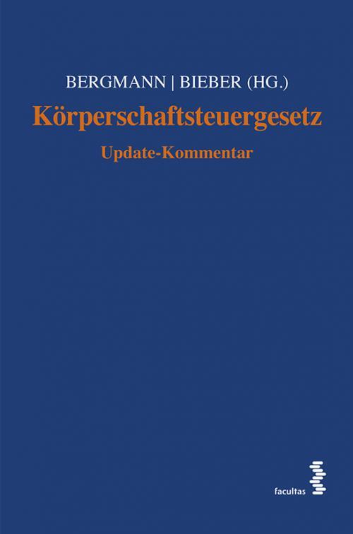 Körperschaftsteuergesetz cover