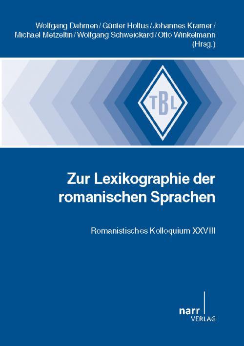 Lexikographie der romanischen Sprachen cover