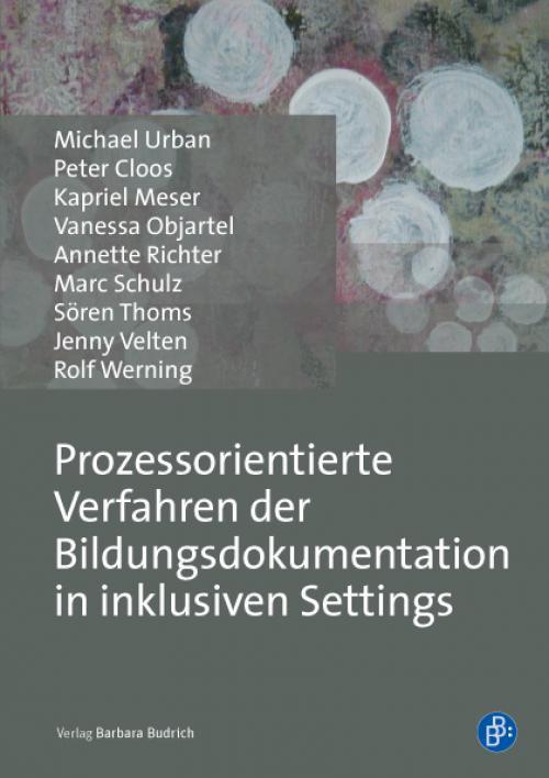 Prozessorientierte Verfahren der Bildungsdokumentation in inklusiven Settings cover