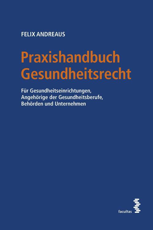 Praxishandbuch Gesundheitsrecht cover