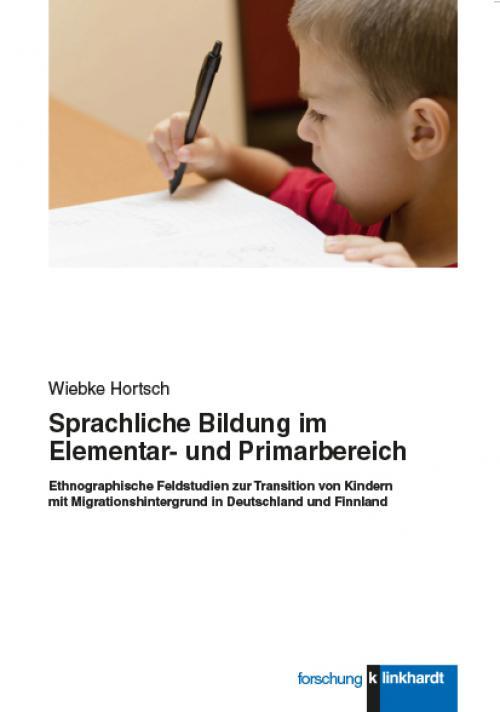Sprachliche Bildung im Elementar- und Primarbereich cover
