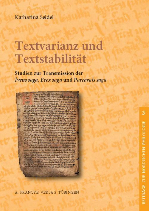 Textvarianz und Textstabilität cover