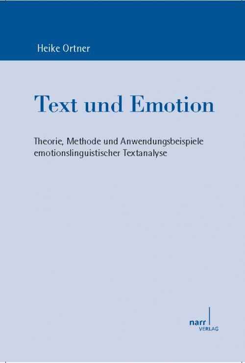 Text und Emotion cover