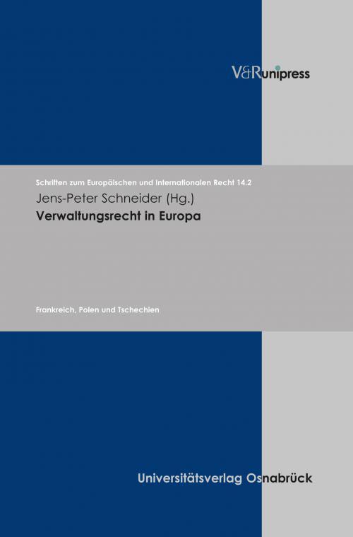 Verwaltungsrecht in Europa cover