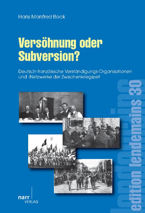 Versöhnung oder Subversion? cover