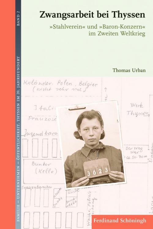 Zwangsarbeit bei Thyssen cover