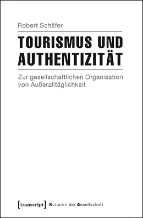 Tourismus und Authentizität cover