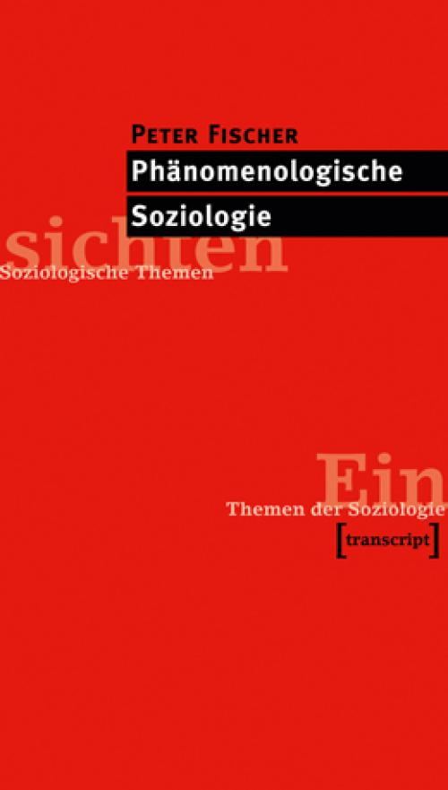 Phänomenologische Soziologie cover