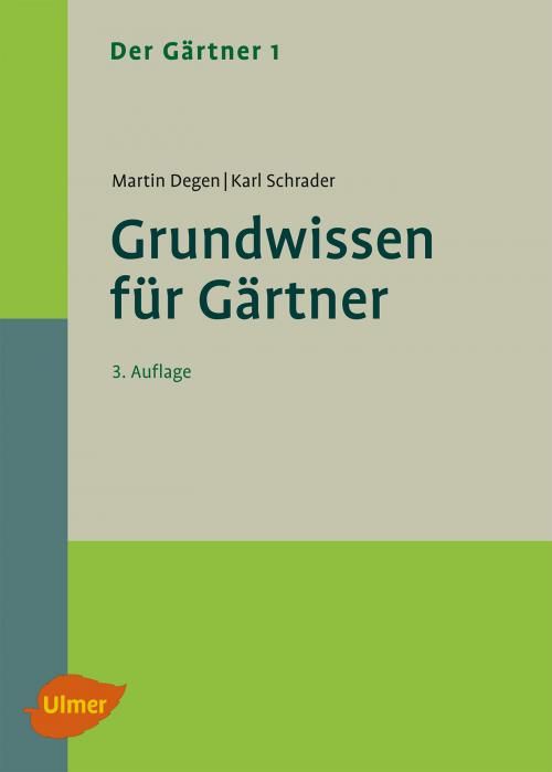 Der Gärtner 1. Grundwissen für Gärtner cover