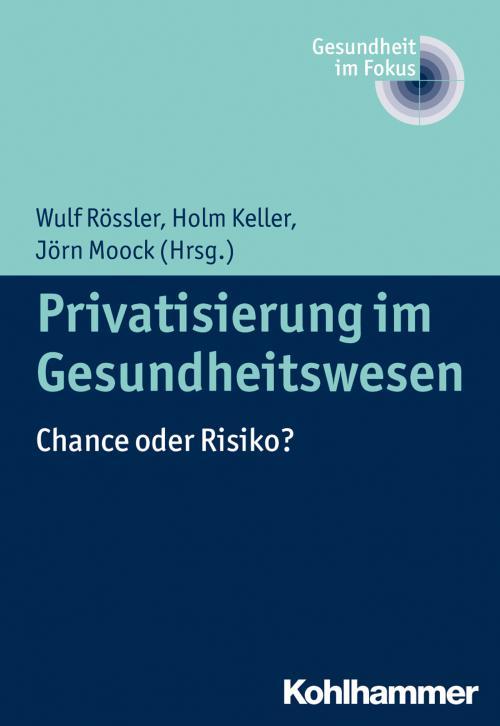 Privatisierung im Gesundheitswesen cover