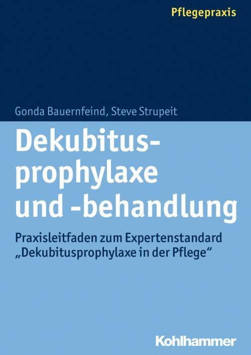 Dekubitusprophylaxe und -behandlung cover