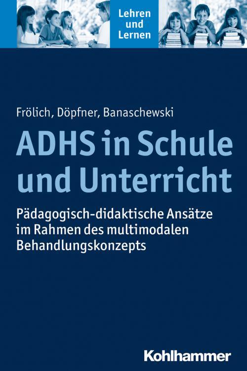ADHS in Schule und Unterricht cover