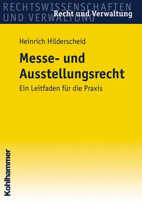 Messe- und Ausstellungsrecht cover