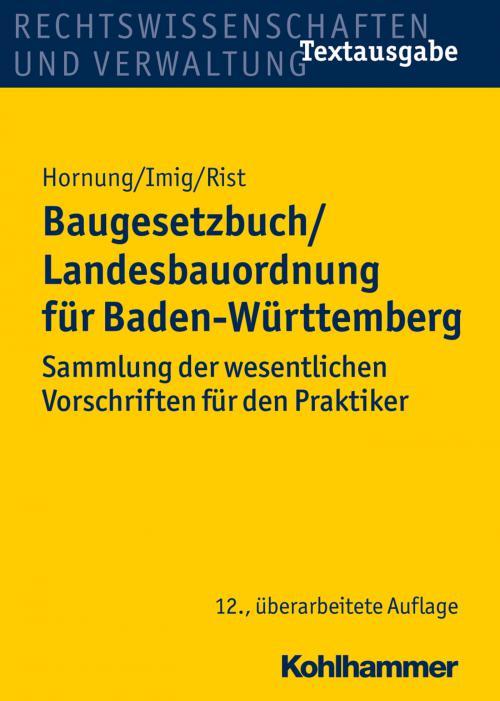 Baugesetzbuch/Landesbauordnung für Baden-Württemberg cover